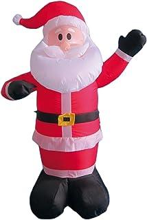 My Home Hinchable navideña con Ventiladores y luz, Altura Aprox. 120cm