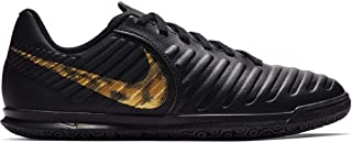 Nike JR Legend Club IC Youth Indoor Soccer Shoes (10.5) Black/Gold