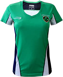 Emerald Ireland Crest Performance Ladies Shirt Top