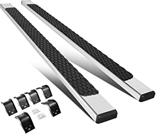 Pair 5 Inches Stainless Steel Nerf Step Bar Running Boards for Ram Truck Crew Cab 09-18