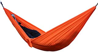 BENatural Adult Hanging Sleeping Hammock Camping Tent Hamac Hamak Rede Fishing Folding Beach Garden with 2 Straps 2 Carabiners