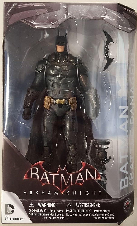 Arkham Knight Battle Damaged Batman Figure