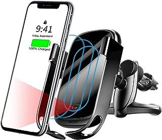 Soporte de Coche para Movil Louise/&Mann Cargador Inal/ámbrico para Coche para Movil Universal QI Carga R/ápida X Note,Huawei Mate para iPhone 11 Soporte Movil para Coche 10 /& 7.5W MAX Samsung S10