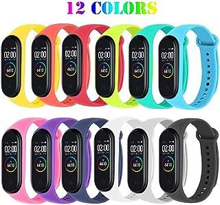 comprar comparacion Ventdest Correas para Xiaomi Mi Smart Band 4 / Mi Band 3, (12 PCS) Pulseras Reloj Silicona Banda para Xiaomi Mi Band 3 / M...