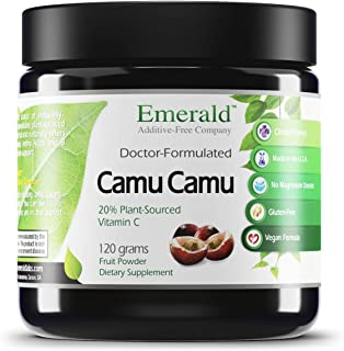Emerald Labs Camu Camu - Helps Support Body Detox, Strengthens Immune System, Supports Anti-Aging, Plant Source Vitamin C ...