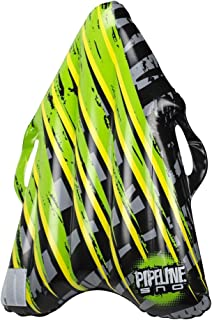 """Pipeline SNO Lazer Sled Inflatable 1 Person Snow Tube Sled with 2 Grip Handles, 36"""" Inch Length"""