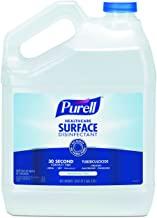 PURELL Healthcare Surface Disinfectant, Fragrance Free, 1 Gallon Surface Disinfectant Pour Bottle Refill (Pack of 4) - 4340-04