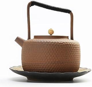 Green cuisson Argile Terracotta Pot avec couvercle et poignées 3 L