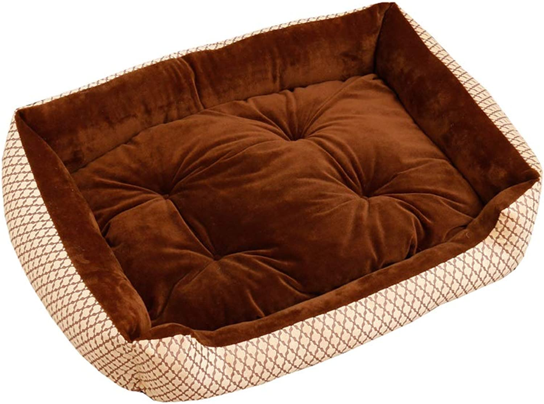 Dog Bed, Soft Washable Warm Luxury Dog Sofa Bed Plush Waterproof Dog Beds Pet Bed Pet Nest (color   7, Size   XXS)