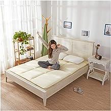Tatami Mattress,Foldable,Student Dormitory Double/Single Sponge Soft Mattress Mattress,Four Seasons Universal,3 Colors to ...