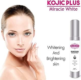 Kojic Acid Plus Skin Whitening & Underarm Cream-3% Kojic Acid, Glutathione, Niacinaminde(B3)–Maximum Strength Brightening–Dark Spots, Hyperpigmentation, Melasma and Sun Damage