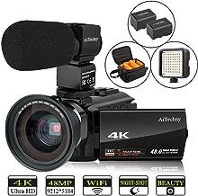 Video Camera 4K Camcorder AiTechny HD Digital WiFi Vlogging Camera 48MP 16X Digital Zoom..