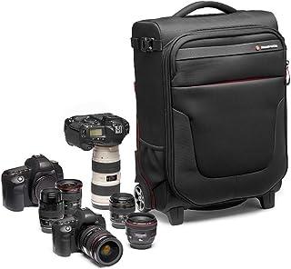 Manfrotto MB PL RL A50 Reloader Air 50 Professionelle Foto Rolltasche für DSLR, Reflex, CSC Premium Kameras, Trolly für bis zu 2 Kameras und Objektive, mit einer 15' Tasche für PC und Dokumententasche