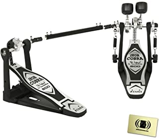Tama HP600DTW Iron Cobra 600 Double Pedal with Polishing Cloth