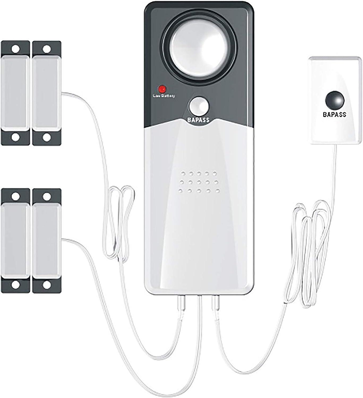 Techko S189 Ultra Slim Safe Pool Alarm, Gray : Patio, Lawn & Garden