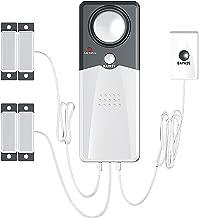 Techko S189 Ultra Slim Safe Pool Alarm, Gray