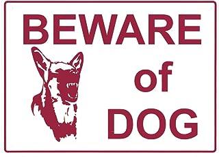 SAS Safety 9950 35.56 × 25.4 سم، لافة: Beware of Dog