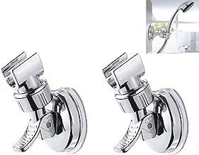 LiDing - Soporte ajustable para alcachofa de ducha, 2 unidades, con ventosa, sin taladros, para alcachofa de ducha de mano