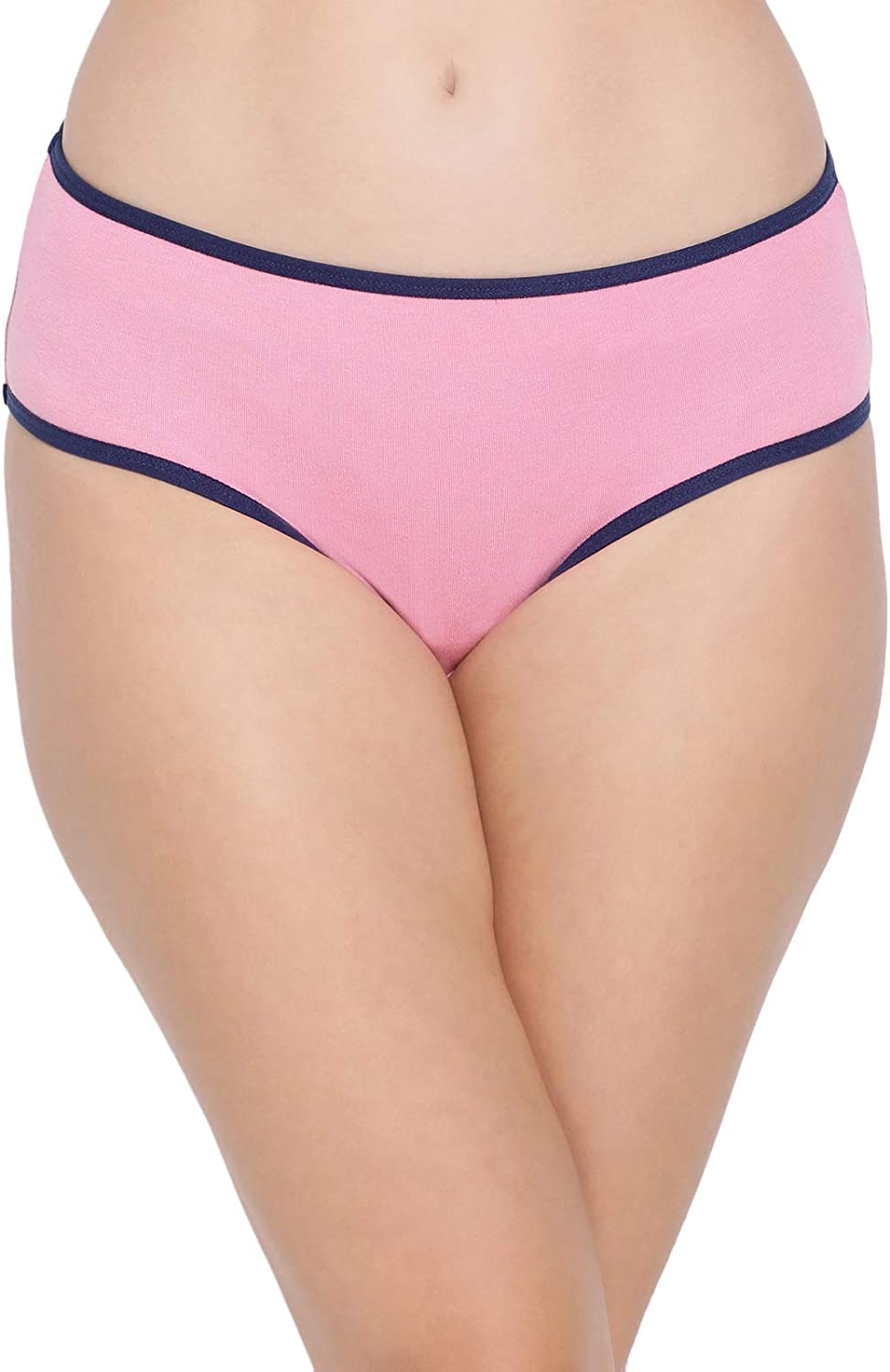 Clovia Womens mid New Opening large release sale products world's highest quality popular Waist Cotton Hipster Brief Panties Underwear