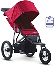 Joovy Zoom 360 Ultralight Jogging Stroller, Red
