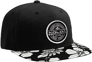 Koloa Surf Thruster Patch Logo Solid Snapback Hats