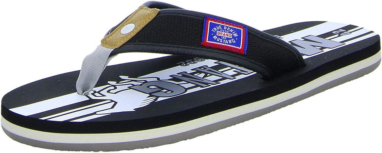 Mustang Men's Flip Max 68% OFF Sandals [Alternative dealer] Flop