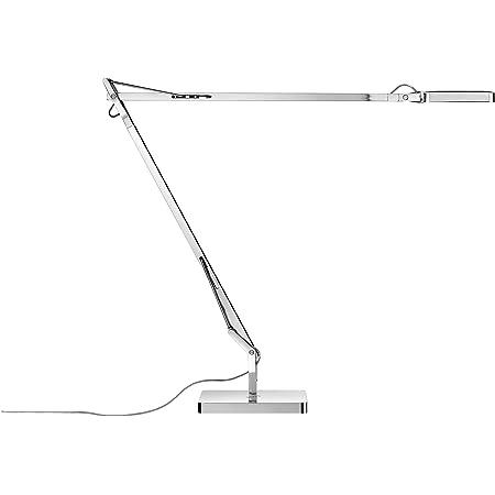 Flos Lampada Da Tavolo Kelvin Led Base Colore Antracite Amazon It Illuminazione