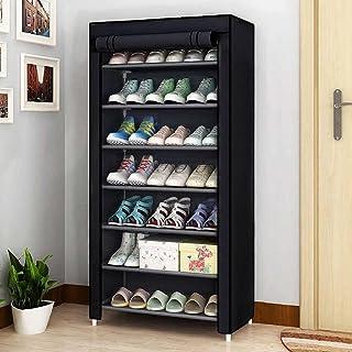 Cmerchants Smart Buy Home Utility Portable shoe rack (7 Layer) (Black)