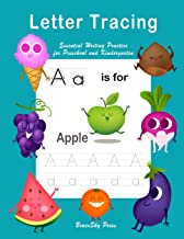 Letter Tracing: Essential writing practice for preschool and kindergarten, Ages 3-5, A to Z Cute Illustrations (Handwriting Workbook)