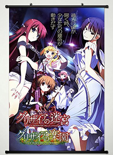 Wall Scroll Poster Fabric Painting For Anime Grisaia no Kajitsu Key Roles 004 L
