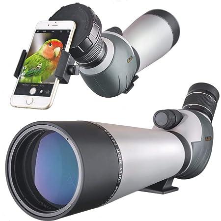 Landove Waterproof Spektiv 20 60x 80mm High Power Mit Kamera