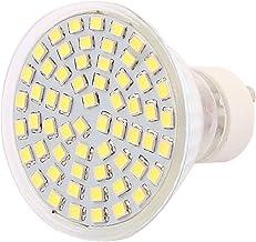 X-DREE 220V GU10 LED Light 6W 2835 SMD 60 LEDs Spotlight Down Lamp Bulb Lighting Pure White(Lampadina 220V GU10 LED 6W 283...