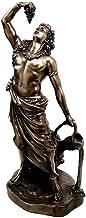 Statue Greek Mythology Dionysus Wine Making Grape Harvest Fertility Bronze Figurine