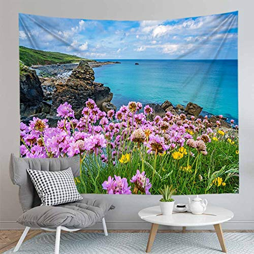 JXCDNB 200CMX150CM 3d HD printed nature picture tapestry landscape gradient sunset background home decoration wall decoration cloth living room tablecloth carpet