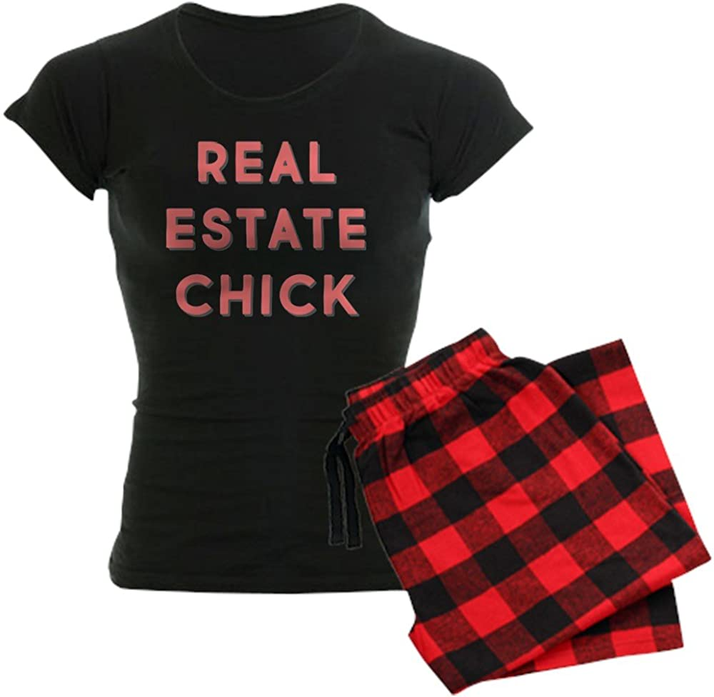 CafePress Real Surprise price Estate Chick Women's A surprise price is realized PJs