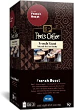 PEET'S COFFEE French Roast Single Serve Freshpack for MARS DRINKS FLAVIA Brewer, 18 Packets