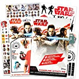 Star Wars Sticker Activity Party Favors Set ~ Bundle Includes Over 450 Star Wars Stickers and 75 Temporary Tattoos for Kids