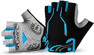 Cool Change Cycling Gloves Mountain Bike Gloves SBR Pad Shockproof   Anti- Slip   Breathable Gloves Half Finger Bicycle Gloves for Men Women