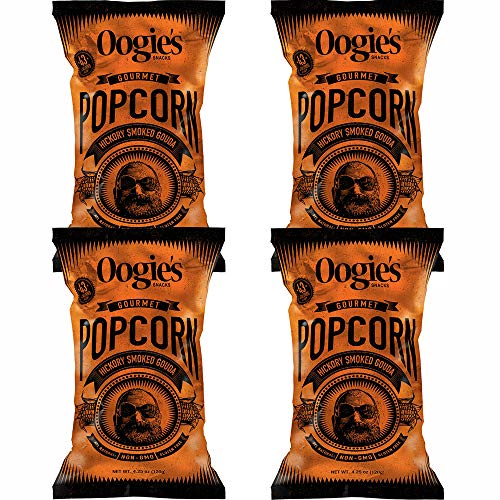 Amazing Deal Oogie's Hickory Smoked Gouda Gourmet Popcorn 4.25 oz (Pack of 4)