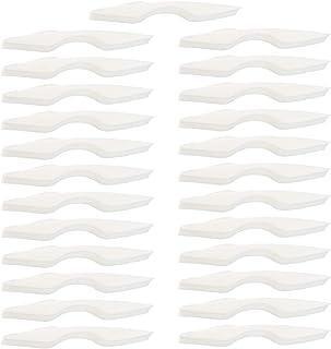 MILISTEN Ponte nasale anti-appannamento, paradenti, supporto interno in spugna, protezione per il viso, 25 pezzi