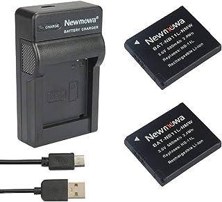 Newmowa NB-11L Batería (2-Pack) y Kit Cargador Micro USB portátil para Canon NB-11L y Canon PowerShot A2300 IS A2400 IS A2500 A2600 A3400 IS A3500 IS A4000 IS ELPH 110 HS