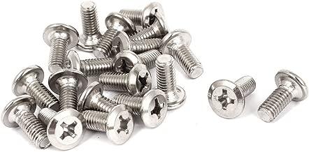 TOOGOO Tornillos tornillos de 0,8mm pitch M5x10mm de tapa del cabezal de llave Allen 30 piezas R