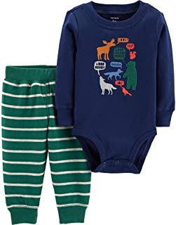 Carter's Baby Boys' Bodysuit Pant Sets 121g826