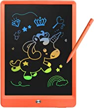 Derabika Learning Toys for 3 4 5 6 7 Girls Boys Gifts, 10 Inch Colorful LCD Writing Tablet Drawing Board, Electronic Doodl...