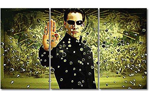 WandbilderXXL Immagine su Tela Matrix Moment 180x 100cm–in 6Diverse Misure. Stampata su Tela e preparata su Telaio. Quadri su Tela a Prezzi Top.