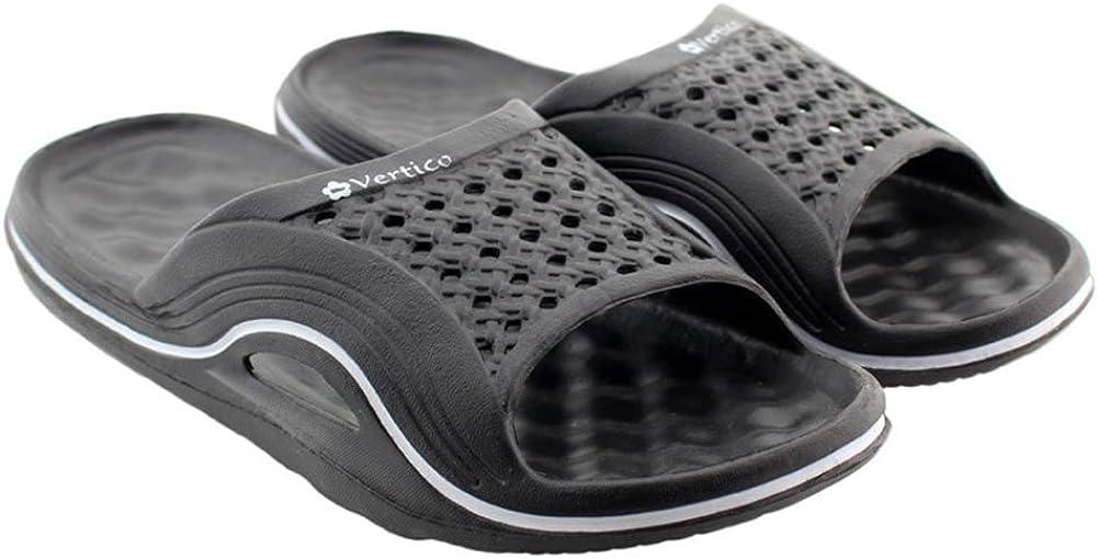 Womens V-Spa Shower Sandal Vertico Comfortable and Waterproof Slide On Sandal