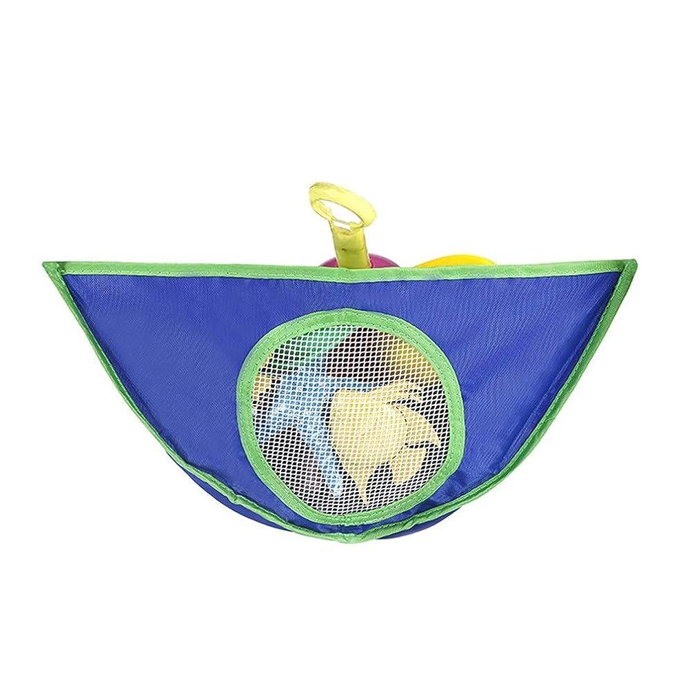 場合こしょう壮大なChaopeng 家庭用浴室吊りバッグ、子供のおもちゃ収納吊りバッグ、防水、オックスフォード布おもちゃ吊りバッグ (Color : ブルー)