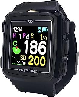 GreenOn(グリーンオン) ゴルフナビ GPS ザ・ゴルフウォッチ プレミアム Ⅱ 高精細 みちびきL1S対応 スマホ連動 スタンスチェック機能付