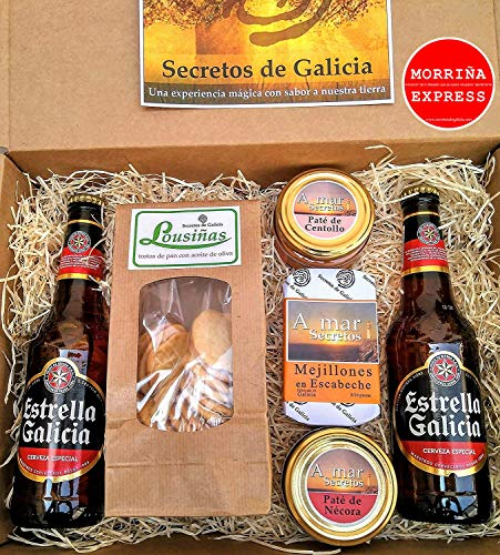 """Estuche """"Morriña Express"""" cervezas de Galicia"""