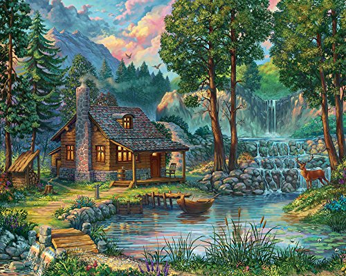 House by The Lake Jigsaw Puzzle 1000 Piece